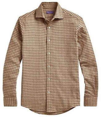 Ralph Lauren Purple Label Aston Check Sport Shirt