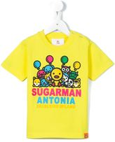 Sugarman Kids animal parade print T-shirt