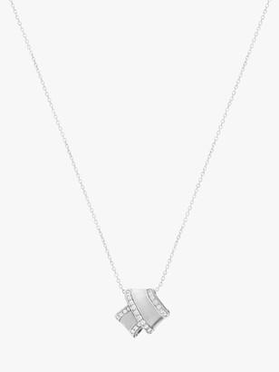 Carelle Knot Diamond Trim Pendant