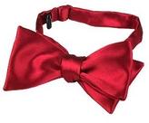 Forzieri Solid Silk Self-tie Bowtie