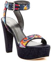 Stuart Weitzman Truex Denim Platform Sandal