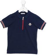 Moncler zipped polo shirt