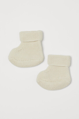H&M Knitted bootees