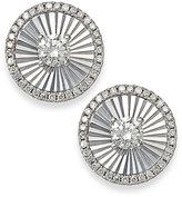 Macy's Diamond Stud Earrings in 14k White Gold (1/3 ct. t.w.)