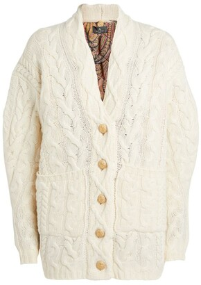 Etro Cable-Knit Cardigan