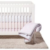 NoJo Crib Bedding Set 8pc - Floral