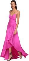 Alexandre Vauthier Asymmetric Shiny Jersey Dress