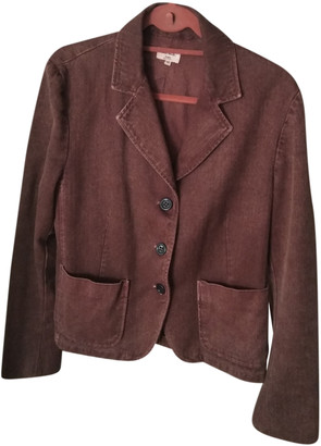 Paul Smith Burgundy Cotton Jackets