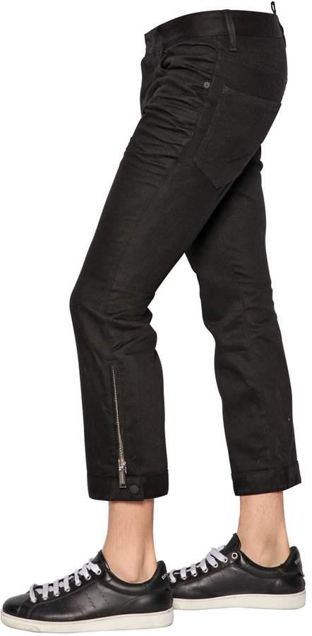 DSQUARED2 18.5cm Biker Ski Clean Wash Denim Jeans