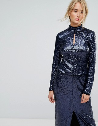 Gestuz Sequin Top