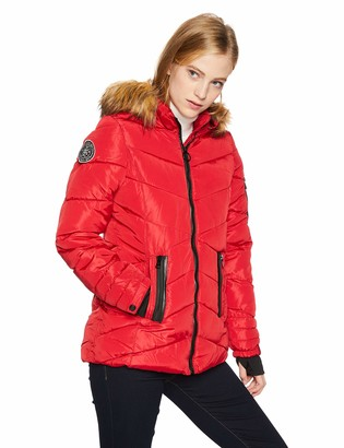 Madden-Girl Women's Nylon Puffer Jacket