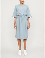 Max Mara Xavier cotton-blend midi dress