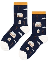 Hansel from Basel New England Crew Socks