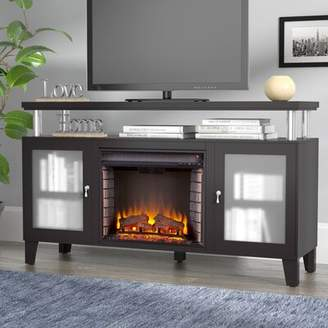 """Alcott Hill Hopeworth TV Stand for TVs up to 58"""" with Fireplace Alcott Hill"""