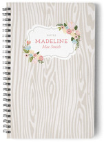 Minted Woodland Botanicals Day Planner, Notebook, or Address Book