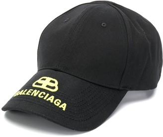 Balenciaga BB logo baseball cap
