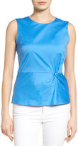 Halogen Sleeveless Twist Detail Top (Petite)
