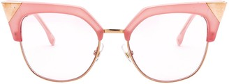 Fendi Eyewear Cat Eye Frames