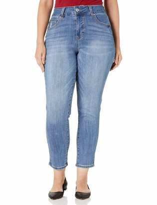 Jag Jeans Women's Plus Size Reese Vintage Straight Jean