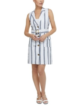 Laundry by Shelli Segal Belted Tunic Dress