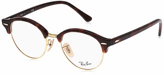 Ray-Ban RX4246V Clubround Eyeglass Frames Non Polarized Round Prescription Eyewear