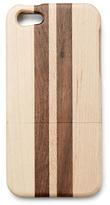 Lucky Brand Stripe Wood Phone Hard Case