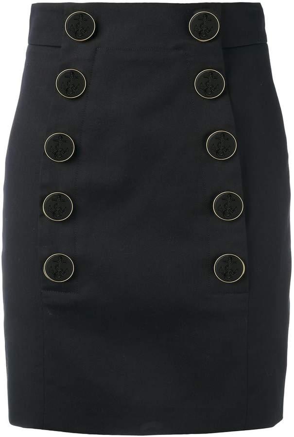Dolce & Gabbana buttoned mini skirt