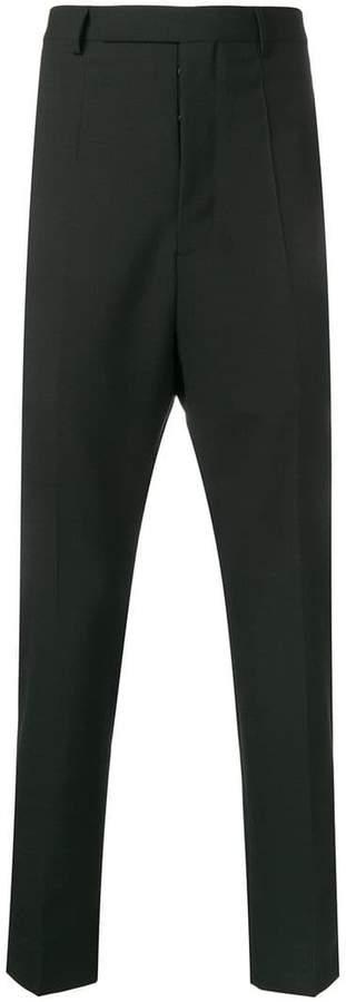 Rick Owens high waisted trousers