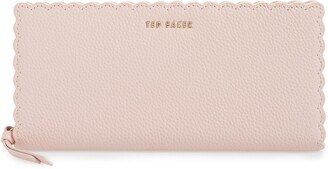 Ted Baker Vivecka Leather Zip Wallet