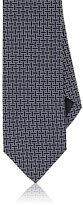 Drakes Drake's Men's Link-Pattern Silk Necktie