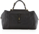 Oryany Orion Barrel-Handle Satchel, Black