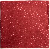 Lanvin Polka-dot print silk pocket square
