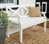 Pottery Barn Hstead Painted Porch Bench - White
