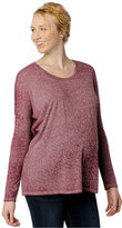A Pea in the Pod Maternity Long-Sleeve Burnout Tee