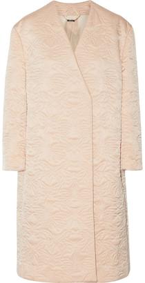 Alexander McQueen Embroidered Silk Jacket