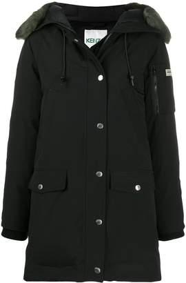Kenzo long sleeves hooded parka