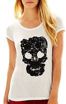 i jeans by Buffalo Lace Skull Tee