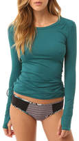 O'Neill Women's Supreme Light Layer Pullover - Deep Teal Long Sleeve Shirts