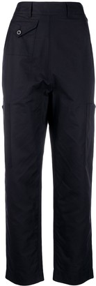 Katharine Hamnett Denise high-waisted trousers