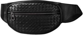 Bottega Veneta Black Leather Clutch bags