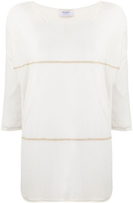 Snobby Sheep Striped Relaxed Top