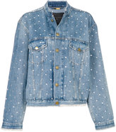 Alexandre Vauthier oversized denim jacket