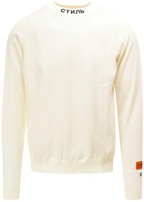 Heron Preston Mock-Neck Sweater