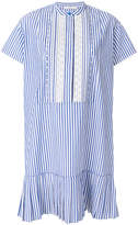 Paul Smith striped drop pleat dress