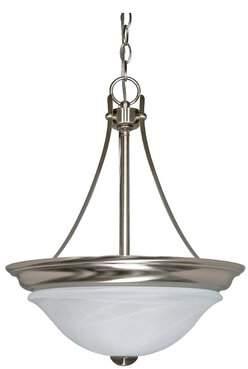 Yardley London Charlton Home 2 - Light Unique / Statement Bowl Pendant Charlton Home Bulb Type: Incandescent