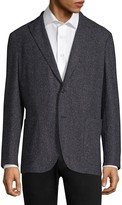 Boglioli Regular-Fit Donegal Tweed Blazer