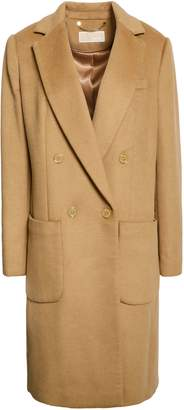 MICHAEL Michael Kors Double-breasted Brushed Felt Coat