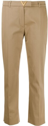 Valentino VGOLD cropped tailored trousers