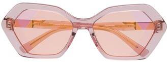 MCM Angular Frame Sunglasses