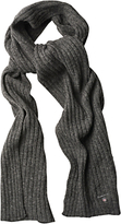 Gant Lambswool Cotton Ribbed Scarf